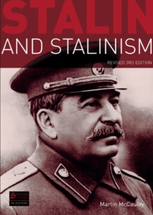 Stalin and Stalinism, Paperback Book