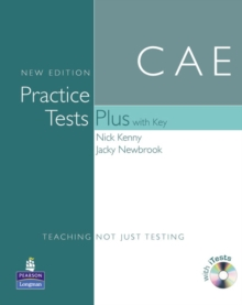 Practice Tests Plus CAE New Edition Students Book with Key/CD-ROM Pack, Mixed media product Book