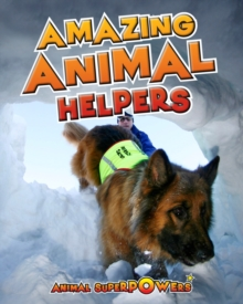 Amazing Animal Helpers, Paperback Book