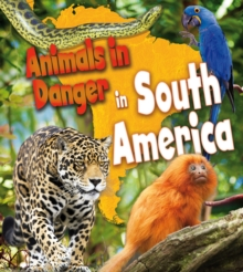 Animals in Danger in South America, Hardback