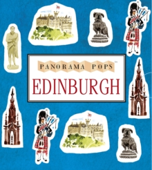 Edinburgh : A Three-dimensional Expanding City Skyline, Hardback Book