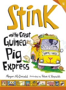 Stink and the Great Guinea Pig Express, Paperback