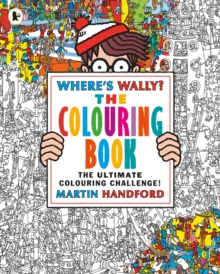 Where's Wally? The Colouring Book, Paperback
