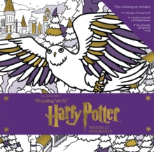 Harry Potter: Winter at Hogwarts: A Magical Colouring Set, Hardback