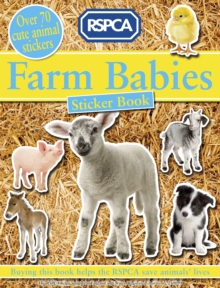 Farm Babies Sticker Book, Paperback