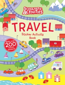 Travel Sticker Activity Book, Paperback