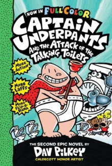 Captain Underpants and the Attack of the Talking Toilets, Paperback Book