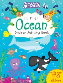 My First Ocean Sticker Activity Book, Paperback