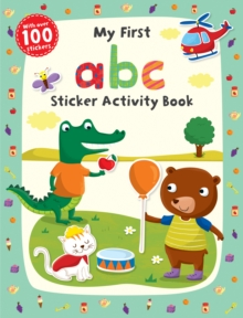 My First ABC Sticker Activity Book, Paperback