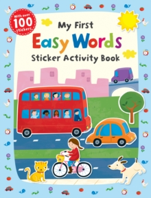 My First Easy Words Sticker Activity Book, Paperback
