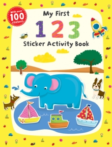 My First 1 2 3 Sticker Activity Book, Paperback