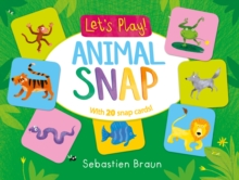 Let's Play! Animal Snap, Board book
