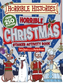 Horrible Christmas Sticker Activity Book, Paperback