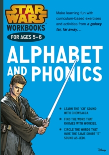 Star Wars Workbooks: Alphabet and Phonics Ages 5-6, Paperback