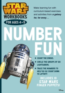 Star Wars Workbooks: Number Fun - Ages 4-5, Paperback Book