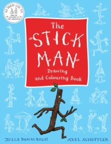 The Stick Man Drawing and Colouring Book, Paperback
