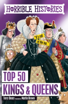 Top 50 Kings and Queens, Hardback