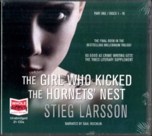 The Girl Who Kicked the Hornets' Nest, CD-Audio Book