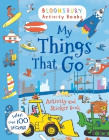 My Things That Go! Activity and Sticker Book, Paperback Book