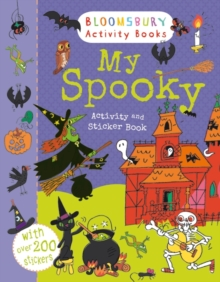 My Spooky Activity and Sticker Book, Paperback