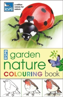 RSPB Garden Nature Colouring Book, Paperback Book