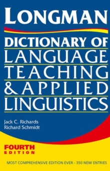 Longman Dictionary of Language Teaching and Applied Linguistics, Paperback Book