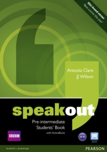 Speakout Pre-Intermediate Students Book and DVD/Active Book Multi-Rom Pack, Mixed media product Book