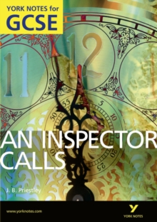 An Inspector Calls: York Notes for GCSE (Grades A*-G), Paperback Book