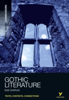 York Notes Companions Gothic Literature, Paperback