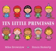 Ten Little Princesses, Hardback Book
