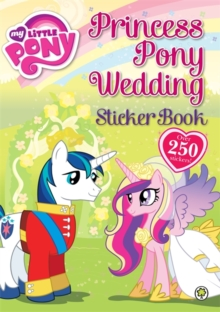 Princess Pony Wedding Sticker Book : Sticker Activity Book 3, Paperback