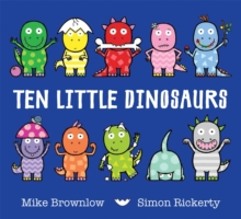 Ten Little Dinosaurs, Paperback