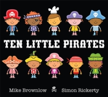 Ten Little Pirates, Hardback Book
