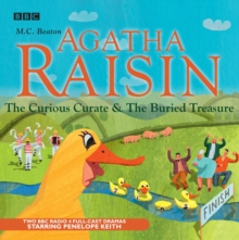 Agatha Raisin : The Curious Curate & the Buried Treasure Vol 3, CD-Audio Book