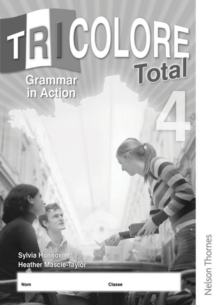 Tricolore Total 4 Grammar in Action Workbook, Multiple copy pack