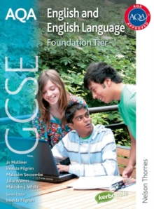 AQA GCSE English and English Language Foundation Tier : Student Book, Paperback