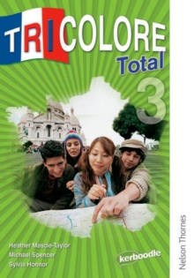 Tricolore Total 3 Student Book, Paperback