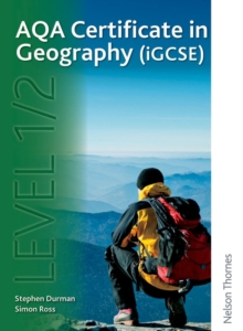AQA Certificate in Geography (IGCSE) Level 1/2, Paperback