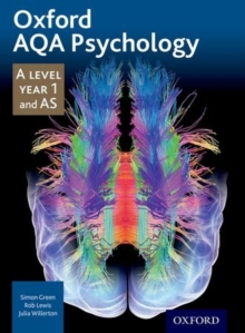 Oxford AQA Psychology A Level Year 1 and AS, Paperback Book