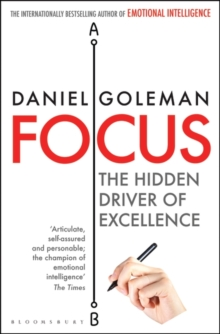 Focus : The Hidden Driver of Excellence, Paperback