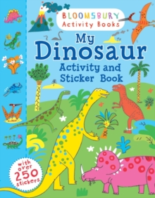 My Dinosaur Activity and Sticker Book, Paperback