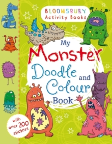 My Monster Doodle and Colour Book, Paperback