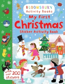 My First Christmas Sticker Activity Book, Paperback