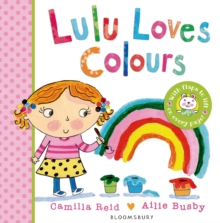 Lulu Loves Colours, Board book Book