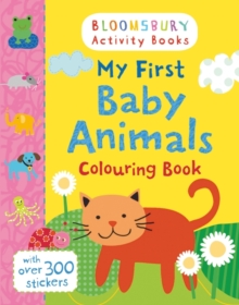 My First Baby Animals Colouring Book, Paperback