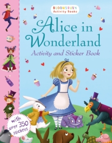 Alice in Wonderland Activity and Sticker Book, Paperback