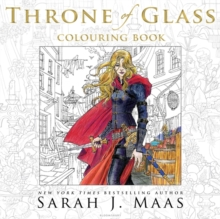 The Throne of Glass Colouring Book, Paperback