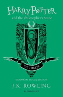 Harry Potter and the Philosopher's Stone - Slytherin Edition, Paperback Book