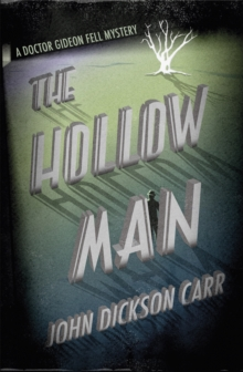 The Hollow Man, Paperback Book