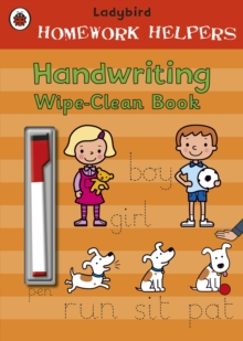 Ladybird Homework Helpers: Handwriting Wipe-Clean Book, Paperback